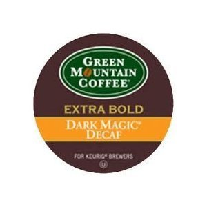 Green Mountain Dark Magic Decaf Extra Bold Coffee 3 Boxes of 24 (Extra Bold Coffee K-cups)