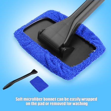 Garosa Car Windshield Cleaning Brush Automobile Window Dust Dirt Removal Tool Easy to Use Car Cleaning Tool Windshield Cleaning Brush - image 1 of 11