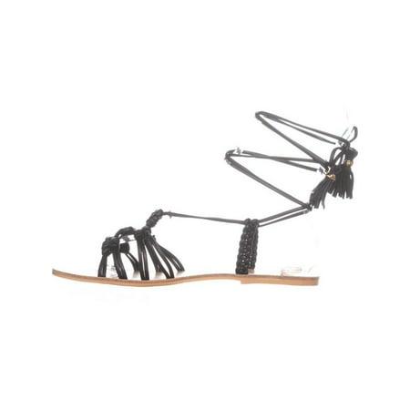 Nanette Lepore June Gladiator Sandals, Black - image 4 of 6