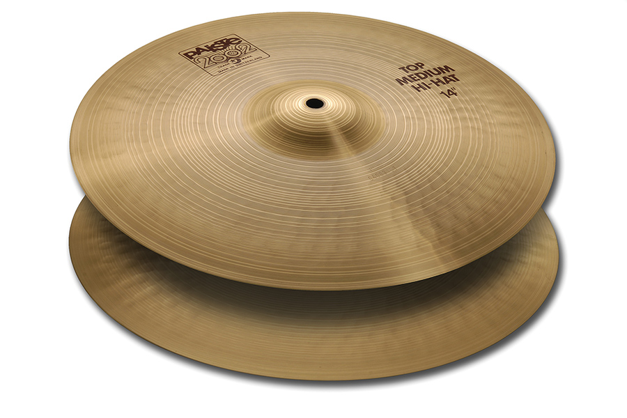 "Paiste 2002 Series 14"" Medium Hi Hat Cymbals by Paiste"