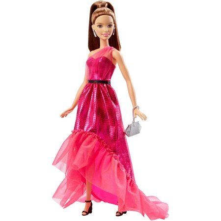 Barbie Pink and Fabulous Metallic Pink Gown Doll