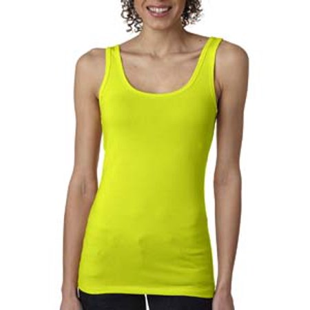 Solid Spandex Matte Jersey (Next Level Ladies' Spandex Jersey Tank)
