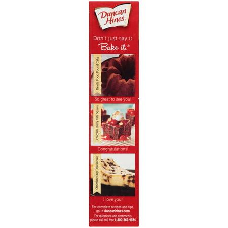 Duncan Hines Classic Devil S Food Cake Mix 15 25 Oz Box Walmart Com