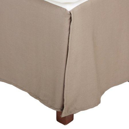 Superior 300 Thread Count Long Staple Combed Cotton Solid Bed Skirt