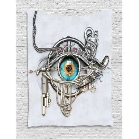Eye Tapestry, Mechanical Design of an Eye Complex Machinery with Engineering and Technology ...