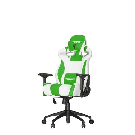 Peachy Vertagear Racing Series S Line Sl4000 Gaming Chair White Green Edition Andrewgaddart Wooden Chair Designs For Living Room Andrewgaddartcom