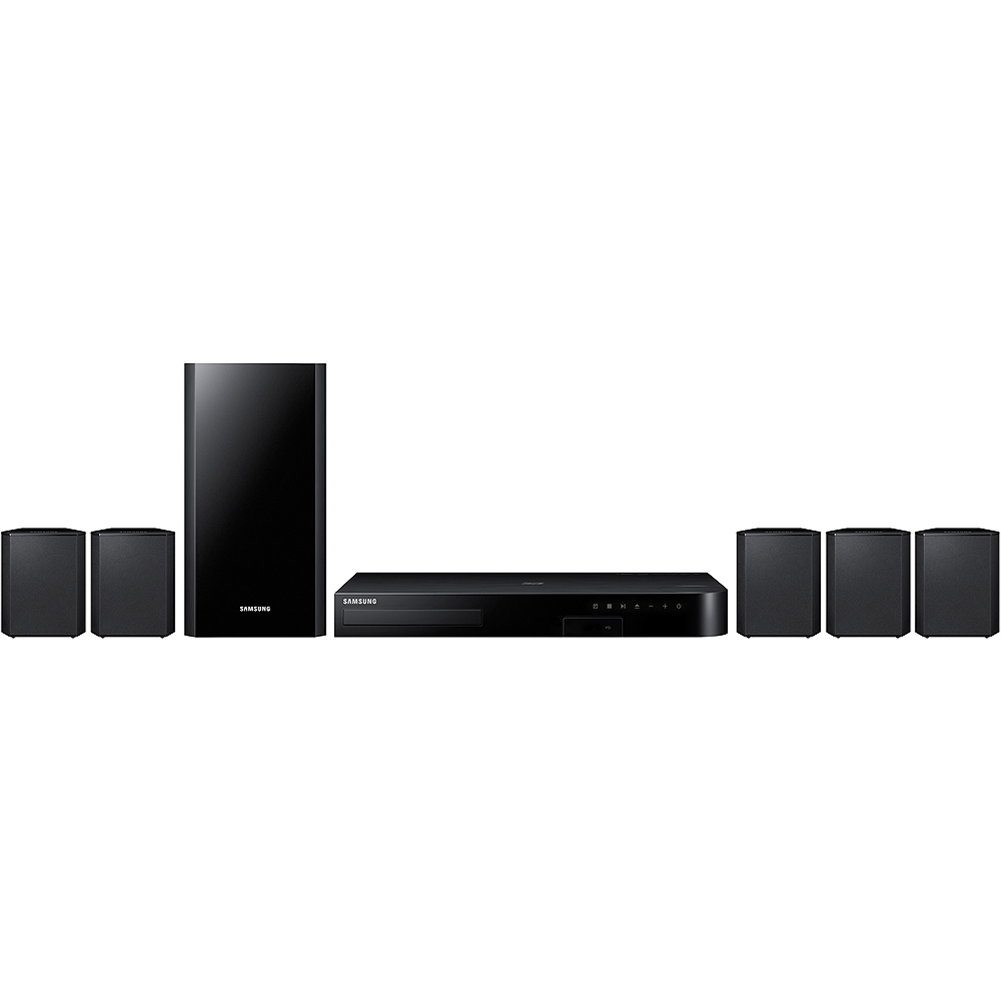 SAMSUNG 5.1 Channel 500W Home Theater System with Blu-Ray & DVD Player - HT-J4500