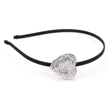 Great Gatsby / Roaring 20s Flapper Inspired Handmade Rhinestone Heart Headband / - The Great Gatsby Roaring 20s