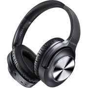VANKYO C750 Headphones Active Noise Cancelling Headphones Over Ear with Microphone, Un-Wired Headset Hi-Fi Stereo Deep Bass with 30H Playtime, Protein Earpads for Travel Work TV PC Cellphones