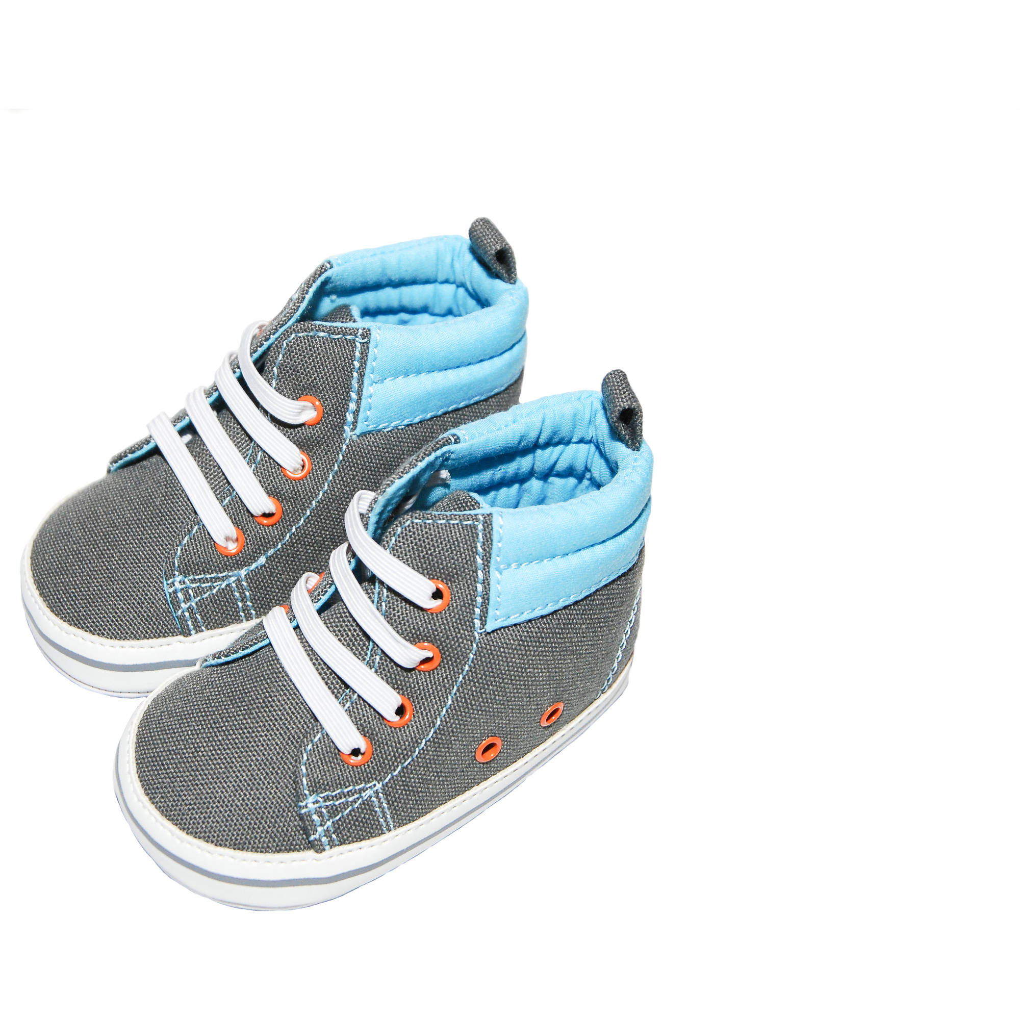 Child of Mine by Carter's Newborn Baby Boy Bumper Hightop Sneakers