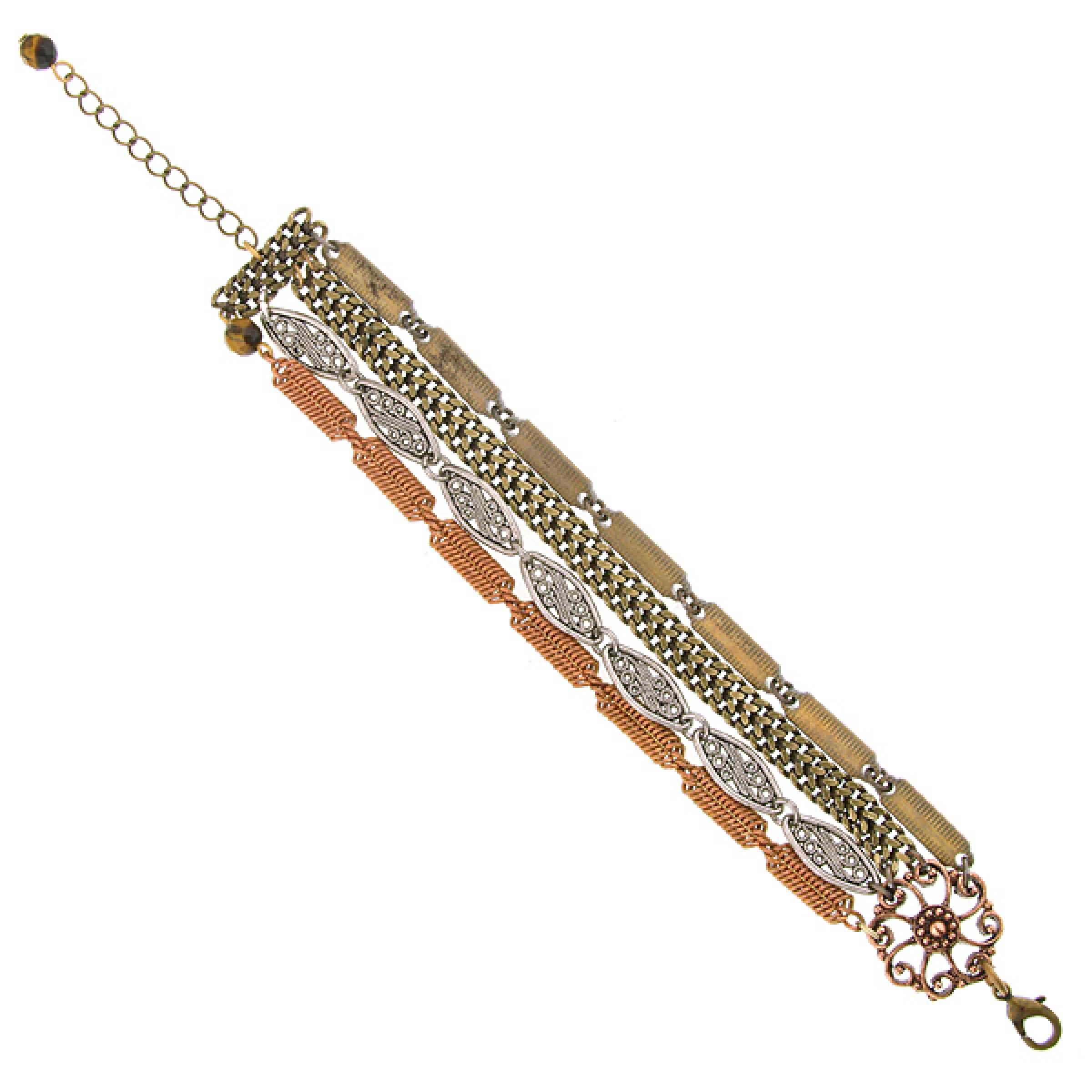 True Rare Unique Forbidden Rose Clasp Bracelet NEW