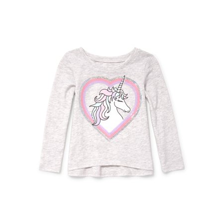 Graduate Knit Top (Long Sleeve Active Knit Top (Baby Girls & Toddler)