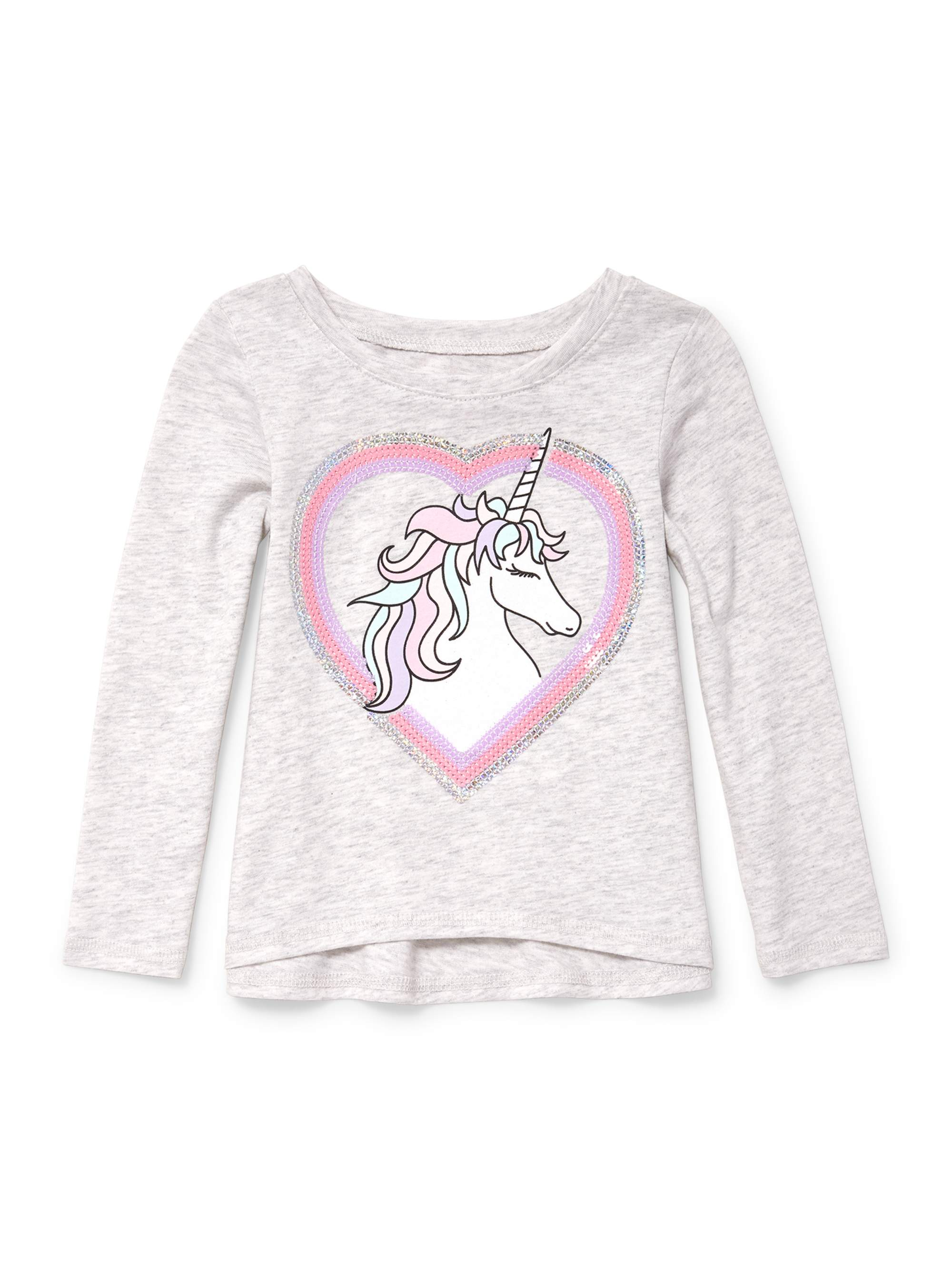Long Sleeve Active Knit Top (Baby Girls & Toddler Girls)