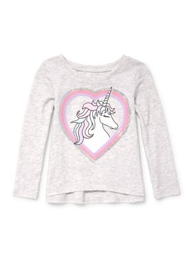b894ac641 Product Image The Children's Place Long Sleeve Active Knit Top (Baby Girls  & Toddler ...