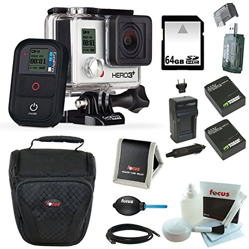GoPro HERO3+ Black Edition Camera Bundle with 64GB Deluxe...
