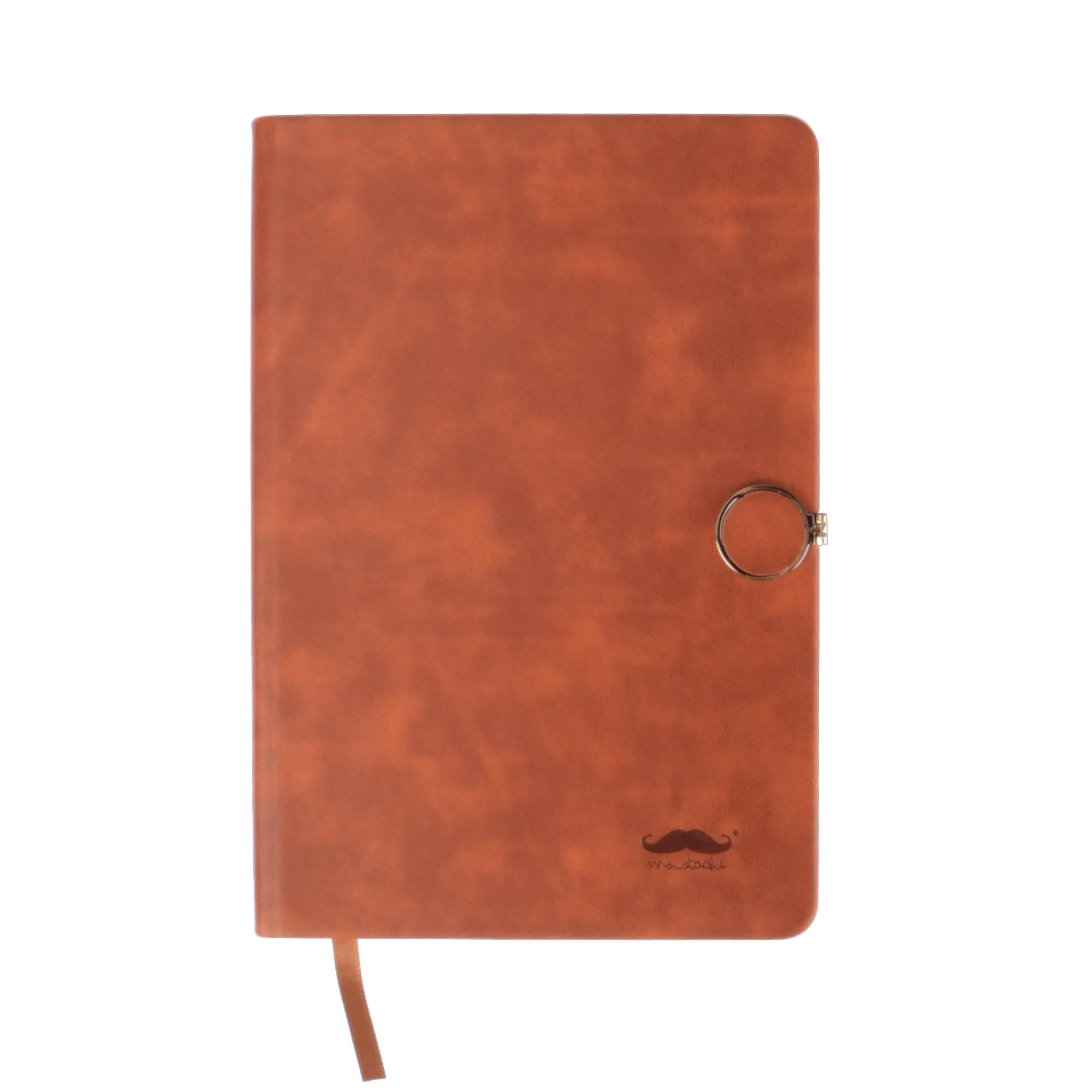 Moustache Color Pu Notebook With Magnetic Buckle 96 Sheets