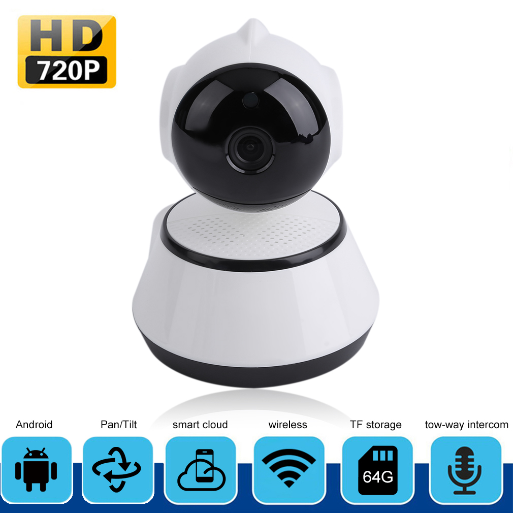 Wireless HD 720P Network Home Security IP Camera IR Night Vision WiFi Webcam