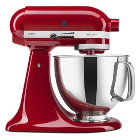 Kitchenaid 5 Quart Stand Mixer Glass Bowl Raspberry Ice Walmart Com