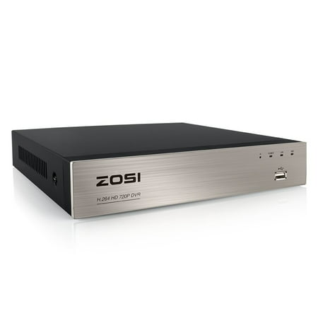- ZOSI 8 Channel 720P HD-TVI Standalone CCTV Security Surveillance DVR Recorder Easy Remote NO Hard Drive