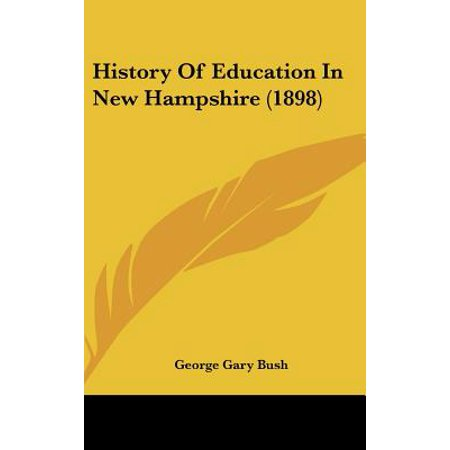 History of Education in New Hampshire (1898)