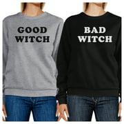 Good Witch Bad Witch Best Friend Matching Tops Halloween Sweatshirt
