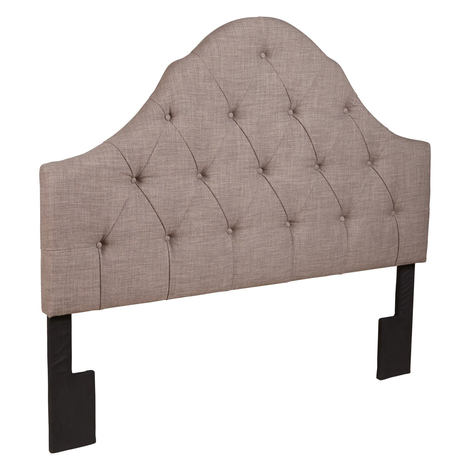 Home Meridian Tufted Arch Upholstered Headboard