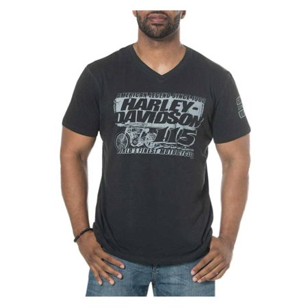 Harley-Davidson Men's 115th Anniversary Renaissance V-Neck Short Sleeve T-Shirt, Harley Davidson