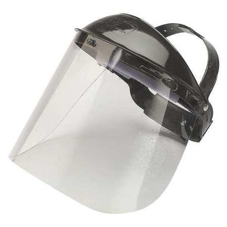JACKSON SAFETY 14382 Faceshield Headgear,Clear Visor,PK12 G4117928
