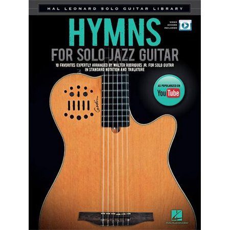 Solo Jazz Guitar Tabs (Hal Leonard Hymns for Solo Jazz Guitar -Video Online - TAB)