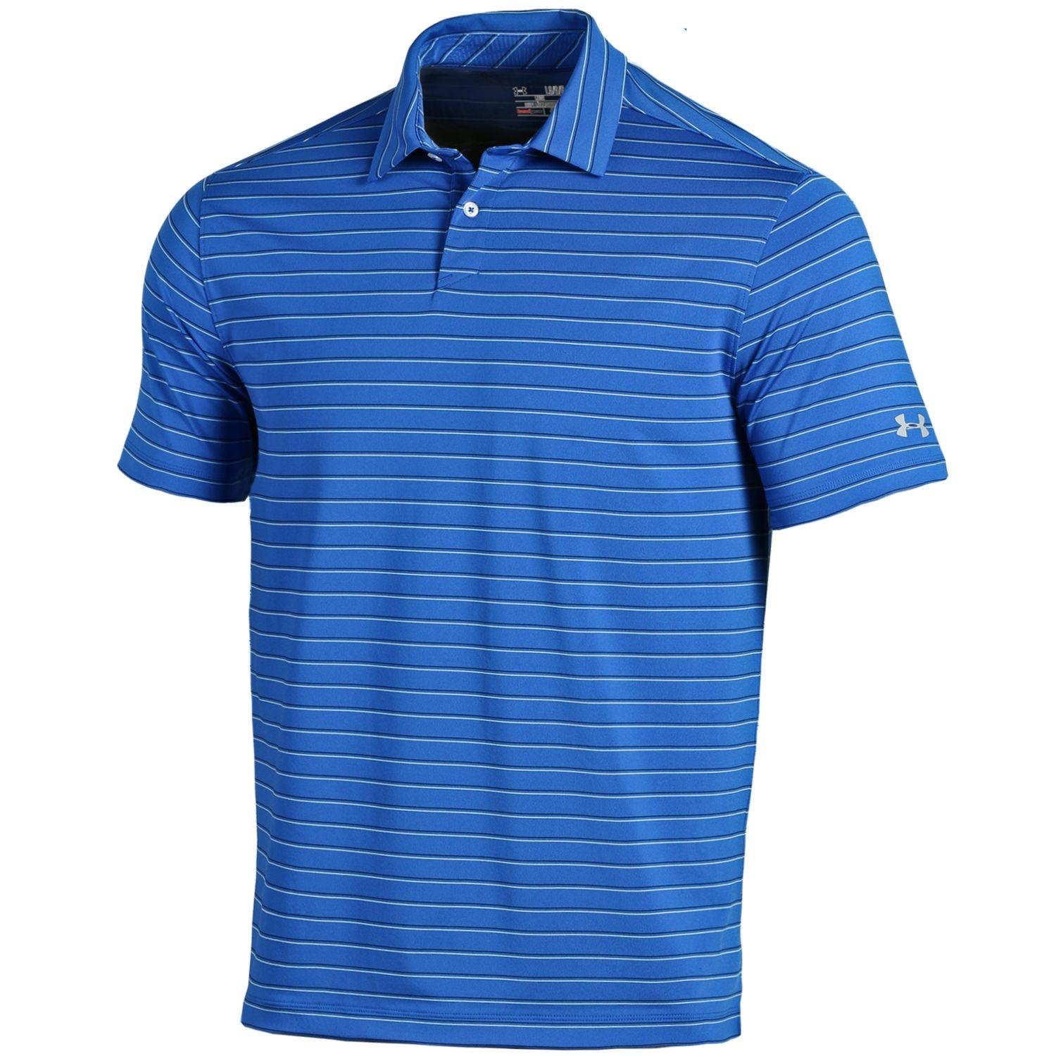 NEW Under Armour Putting Stripe Mens Golf Polo Size XX-Large 2XL - Choose Color