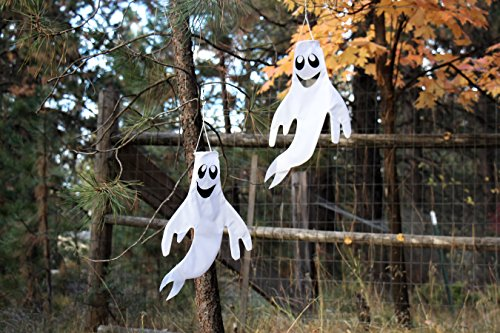 Yard, Garden & Outdoor Living Items In the Breeze Small 18 inch Ghost Windsock Halloween Hanging Decoration