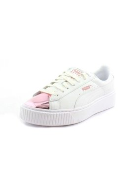 Product Image PUMA Women s Basket Platform Metallic Fashion Sneaker de1c8edd161a5