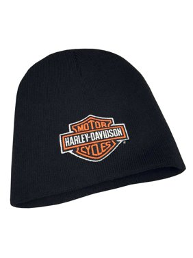 c7cb2b7cf26 Product Image Mens Embroidered Bar   Shield Knit Beanie Cap