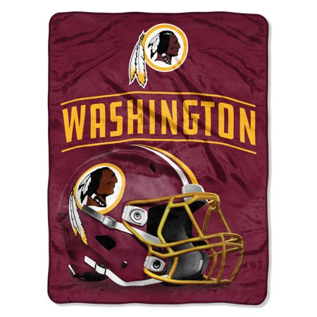 "NFL Washington Redskins Franchise 46"" x 60"" Micro Raschel Throw, 1 Each"