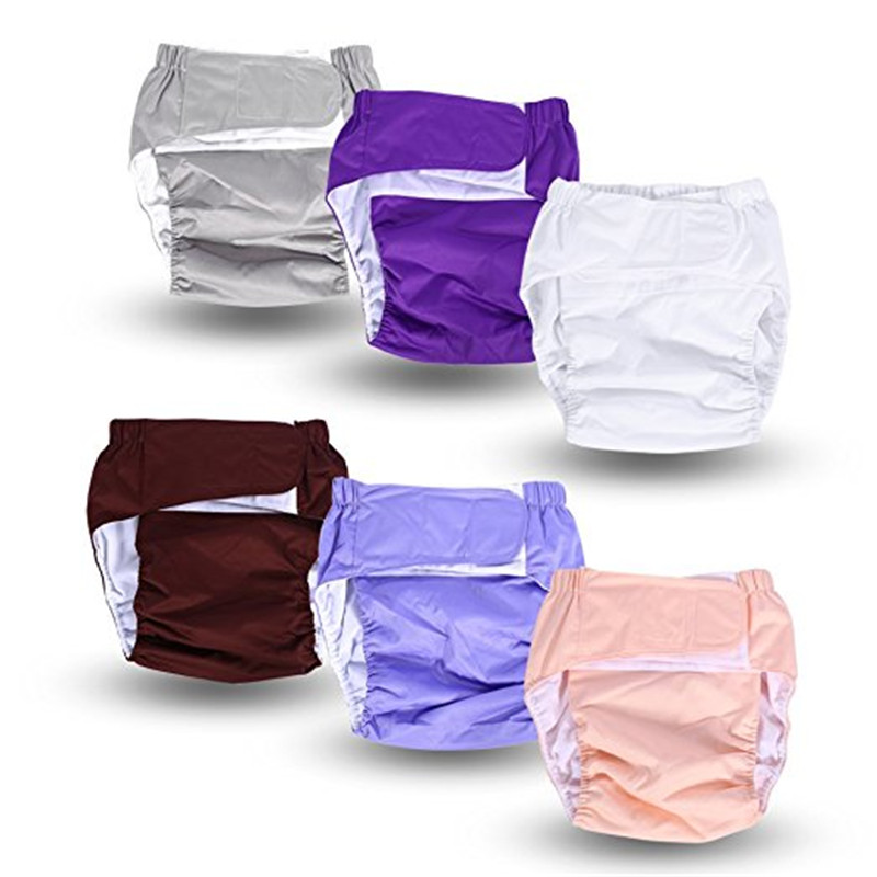 Zerone Teen Adult Cloth Diaper Nappy Pants Reusable Washable Inserts Disability Incontinence, Nappy