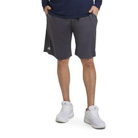 Big Men's Dri-Power Essential Performance Shorts with Pockets (Ash Performance Shorts)