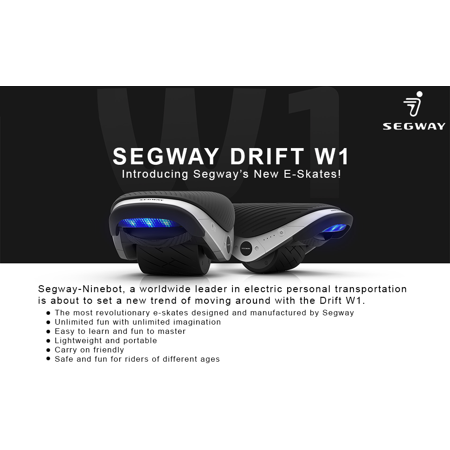 Segway Drift W1 Self Balancing Electric Skates