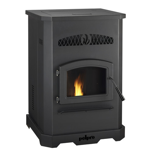 PelPro 2,200 sq. ft. Direct Vent Pellet Stove