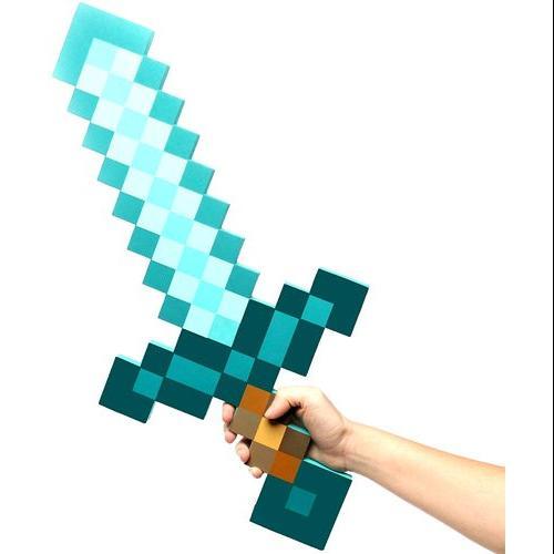 Minecraft Diamond Foam Sword Exclusive