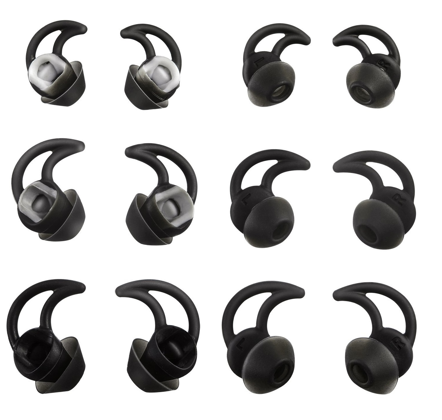 Replacement Ear Gel Tips For Bose IE2 In-Ear Noise Canceling Headphones 1 Pair