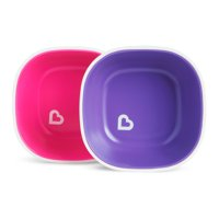 Munchkin Splash Toddler Bowls, 2 Pack, Colors May Vary