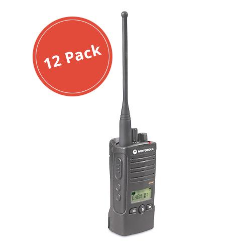 Motorola RDU4160D (12 Pack) RDX Business Series Two-Way UHF Radio w  16 Channel by MOTOROLA