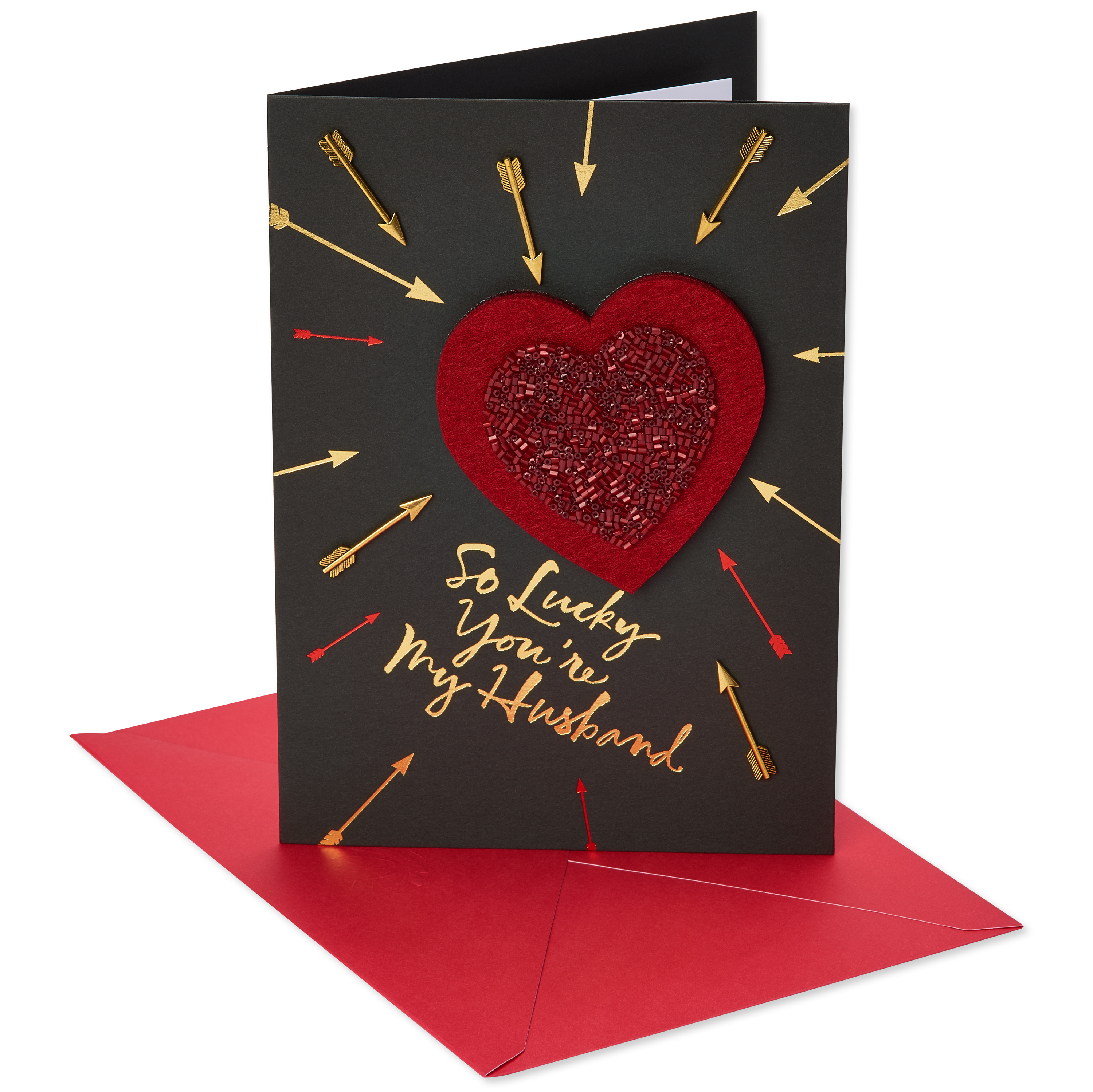American Greetings Lucky Valentines Day Card For Husband Walmart