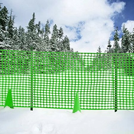 Mickey Fence (V Protek Safety Fence For Flower Plants Support,Snow Fencing,Deer Netting,39