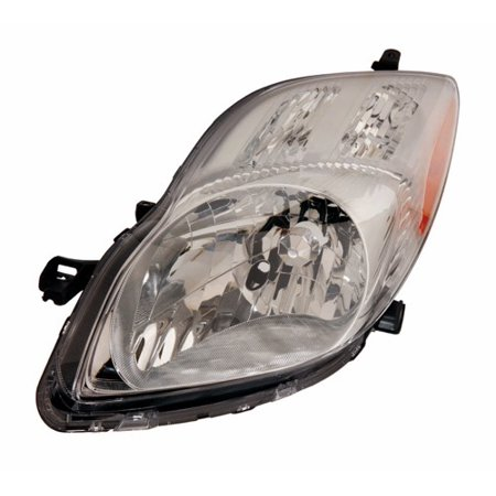 Go-Parts » 2009 - 2011 Toyota Yaris Front Headlight Headlamp Assembly Front Housing / Lens / Cover - Left (Driver) Side - (4 Door; Hatchback + 2 Door; Hatchback + Hatchback) 81170-52B40 TO2518123)