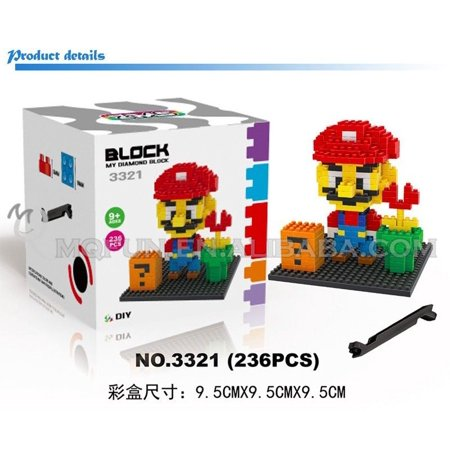 LOZ Cartoon Diamond Blocks super mario Blocks Cute Mini Blocks DIY (Mini Unit Blocks Set)