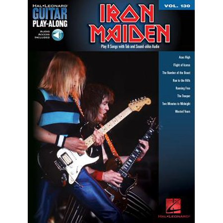 Iron Maiden : Guitar Play-Along Volume 130