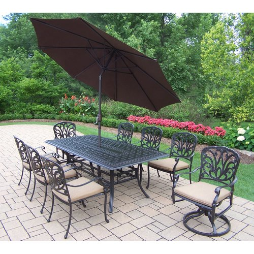 Darby Home Co Bosch 9 Piece Dining set