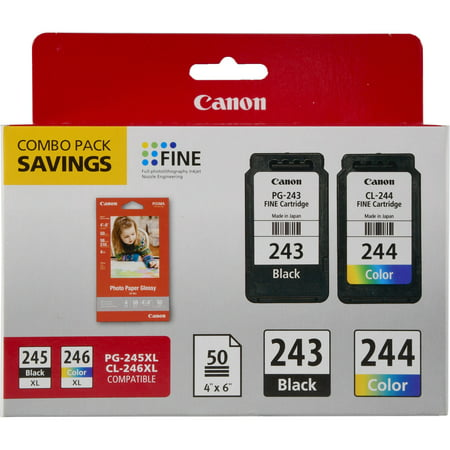Best Phono Cartridge (Canon PG-243/CL-244/GP-601 Ink & Photo Paper Combo Pack, Black/Tri-Color)
