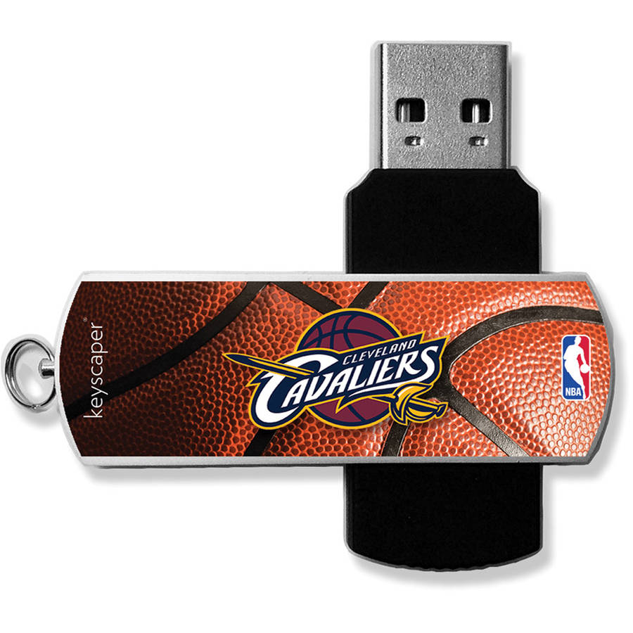 Cleveland Cavaliers Basketball Design USB 8GB Flash Drive by Keyscaper